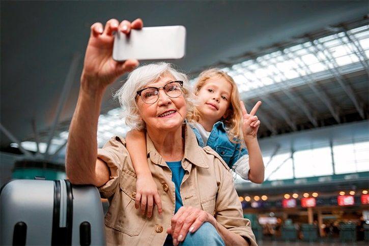 Поездка ребенка в Турцию с бабушкой в 2019 году