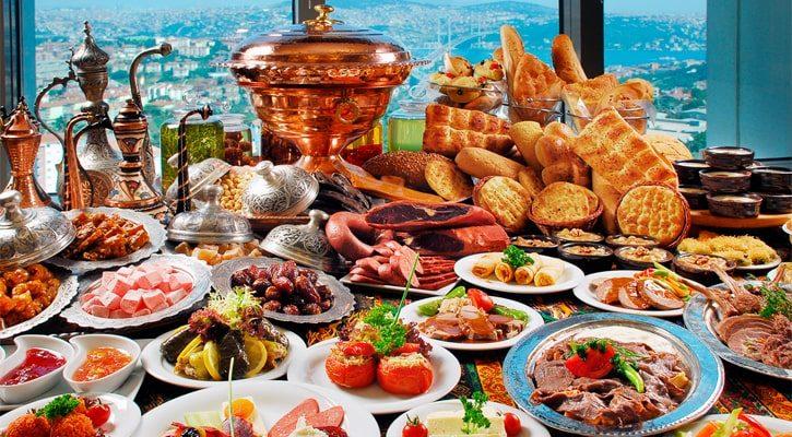 Продукты питания в Турции