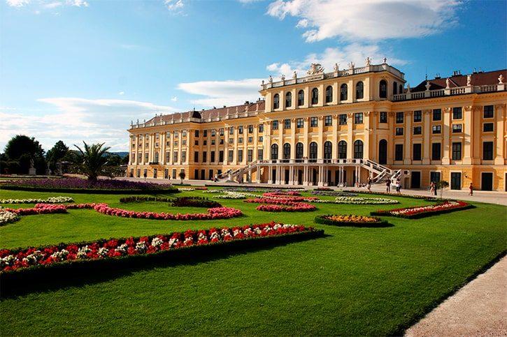Дворец Шёнбрунн Австрия, Вена