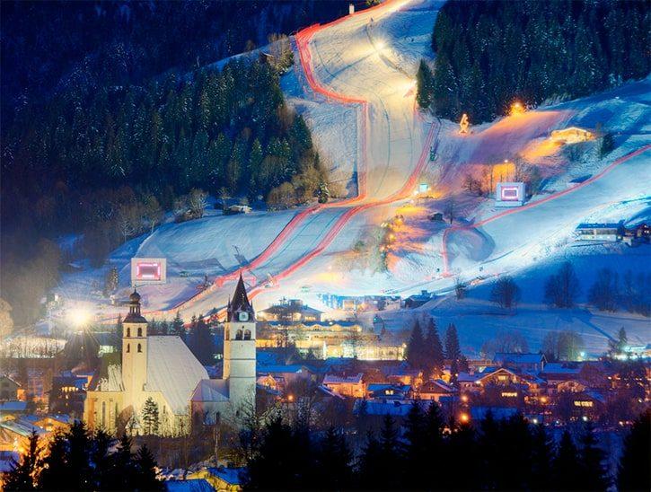 Китцбюэль – горнолыжный курорт Австрии