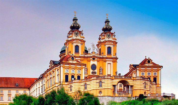 Монастырь в Мельке, Австрия