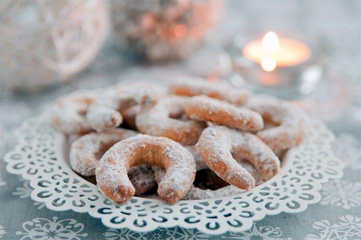 Рождественское печенье «Vanillekipferl»