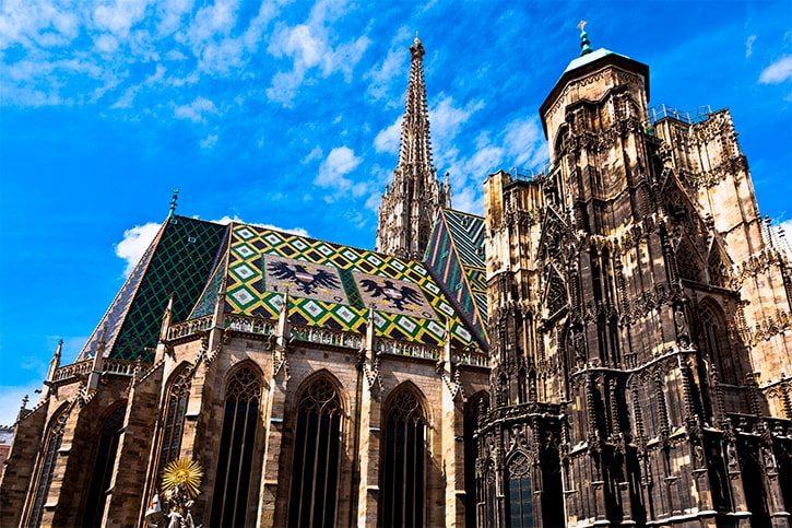 Собор Святого Стефана в центре Вены