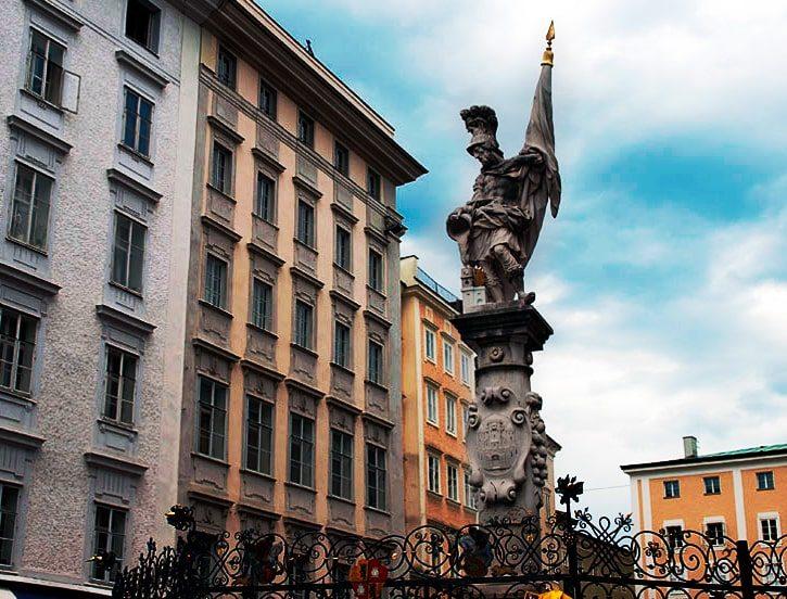 Статуя святого Флориана, Австрия