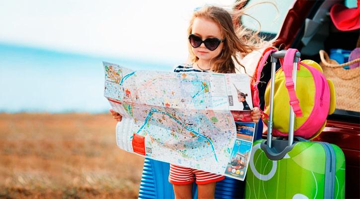 Водитель едет в Испанию как турист