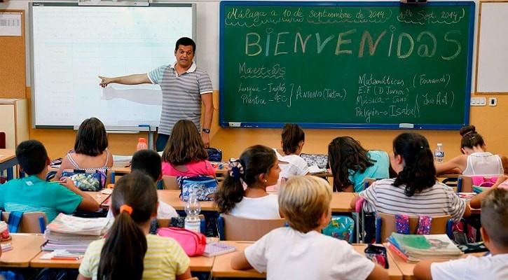 Государственная школа в Испании. Урок
